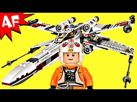 X-WING Starfighter - Lego Star Wars Set 9493 Animated Building Review