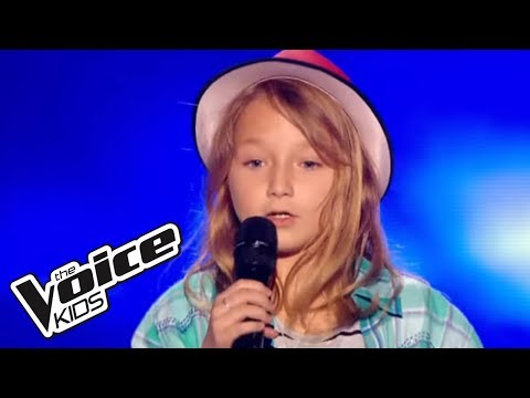 Il m'a montré à Yoodler - Manon Bédard  | Satine | The Voice Kids 2015 | Blind Audition