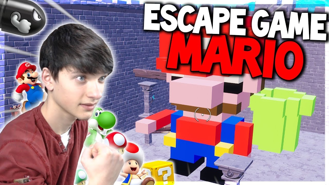 New sauver la princesse peach dans cet escape game mario - Princesse dans mario ...