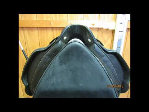 "Albion SLK II Adjusta Ultima Used Dressage Saddle 18"" MW 22072"