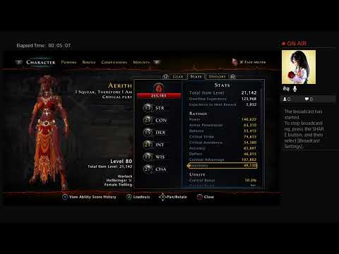 Repeat New high dps high critical warlock build by Jared Petersen