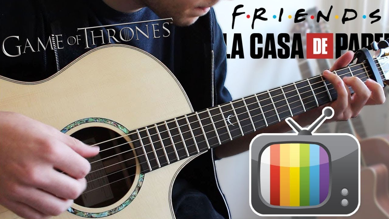 7 TV SERIES Songs to play on Guitar (FINGERSTYLE) - YouTube