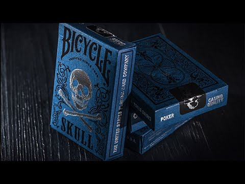 Bicycle Luxury Skull Playing Cards by BOCOPO Playing Card Company at AlbericoMagic.com