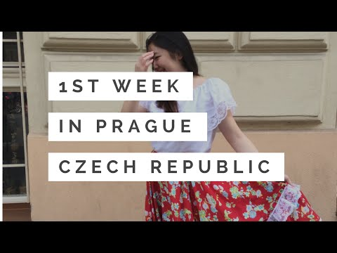 2016 Summer Travel Diary #2 歐洲旅遊日記 | Prague, Czech Republic - Training Week