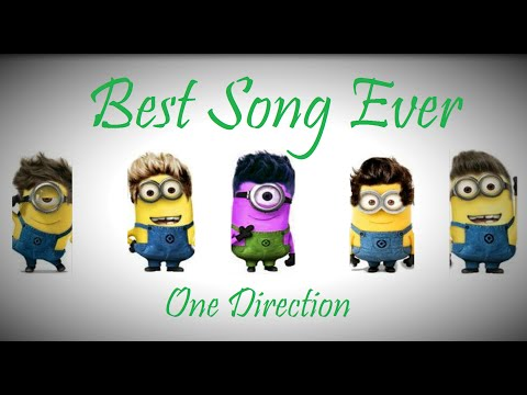 Minions Singing To One Direction - Best Song Ever