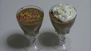 MOUSSE DE CHOCOLATE CON CAFÉ - 13 septiembre día internacional del chocolate