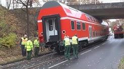 Bundespolizei Sankt Augustin erhält Übungswaggon - Schwertransport am 26.11.19 + O-Ton