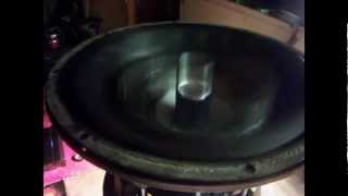Bs5 Custom Subwoofer Excursion testing