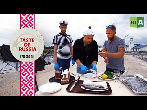 It's Fish Day: Preparing native Russian fish on the shore of Lake Ladoga - Taste of Russia Ep. 18