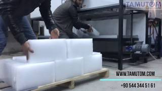 DIRECT COOLING TYPE BLOCK ICE MACHINE ( TAMUTOM)