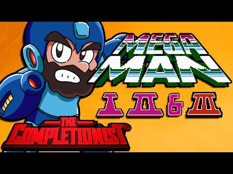 Mega Man Legacy Collection 1-3 | The Completionist | New Game Plus