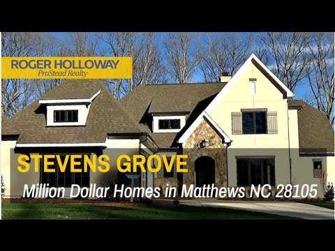 New Luxury Homes For Sale In Stevens Grove, South Charlotte Matthews NC