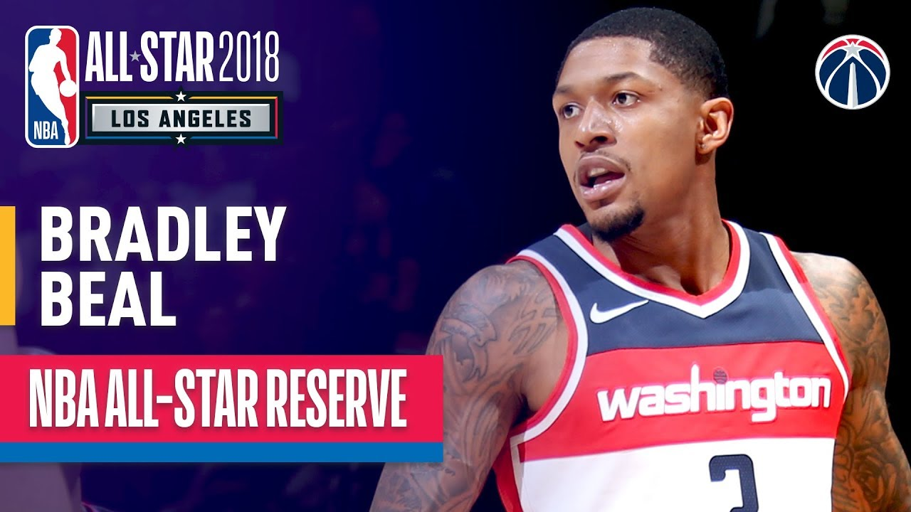 wholesale dealer db0d8 6e9d9 Bradley Beal All-Star Reserve | Best Highlights 2017-2018