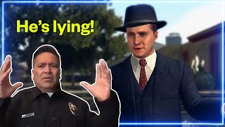 Police officer REACTS to L.A. Noire | Experts React