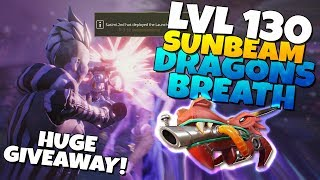 LVL 130 DRAGONS BREATH! IS IT GOOD? + HUGE GIVEAWAY! | Fortnite Save The World