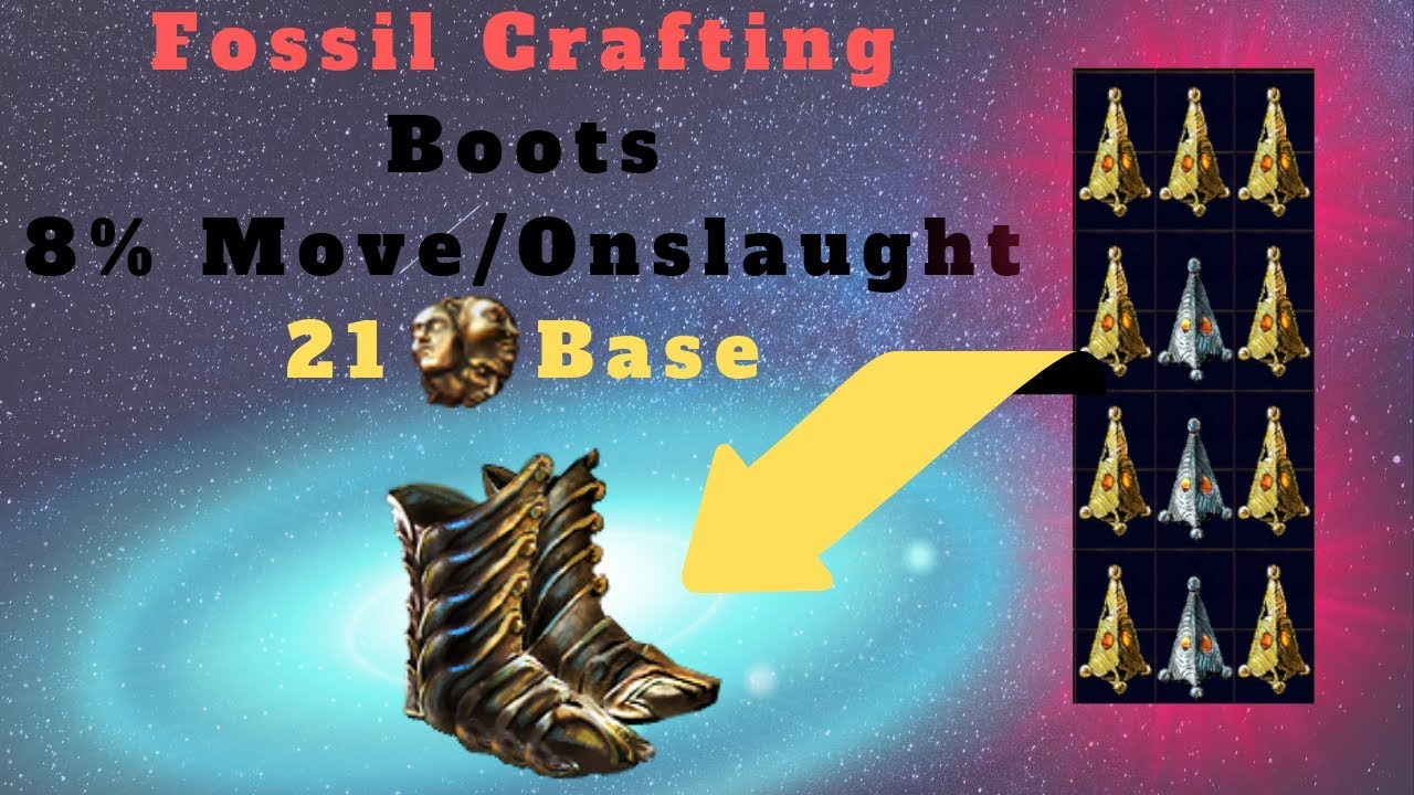 [Path of Exile 3 6] Crafting Expensive Onslaught Boots, Extremely Lucky!!