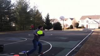 Frisbee Trick Shots Gibbs Edition