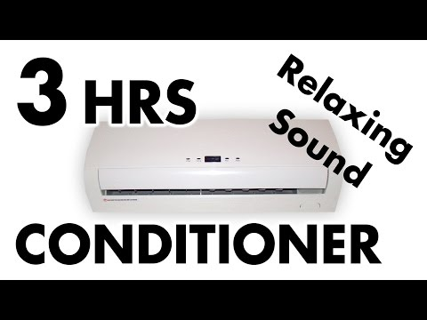 3 HOURS of AIR CONDITIONER Noise | ASMR Sound Relax & Sleep
