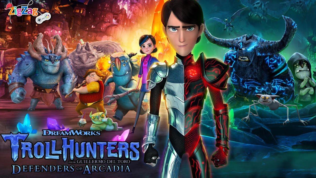 Download Trollhunters Defenders of Arcadia | Full Movie Game | ZigZag