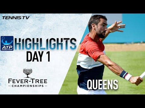 Highlights: Cilic, Stan Cruise In Queen's Club 2018 Openers