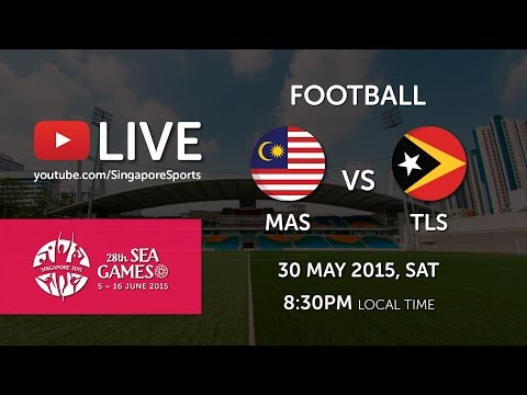 Football: Malaysia vs Timor-Leste | 28th SEA Games Singapore 2015