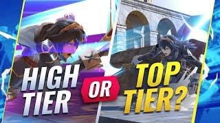 Is Lucina HIGH TIER or TOP TIER?