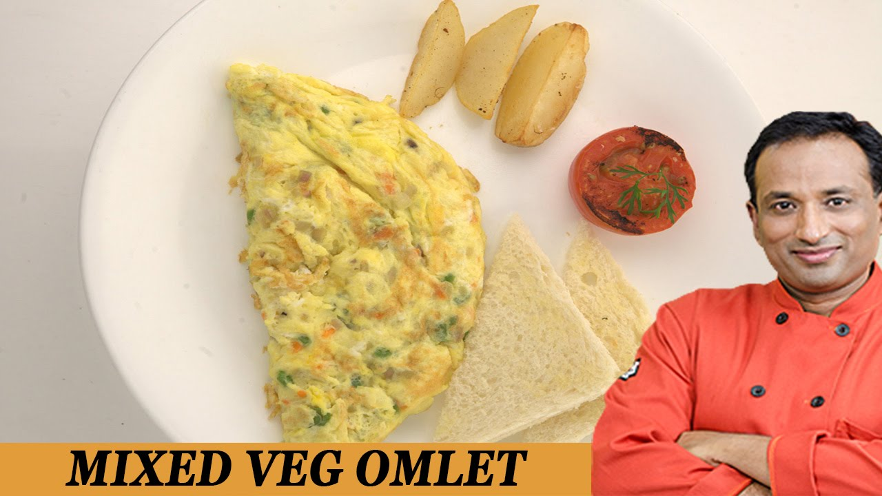 how to cook vegetable omelette