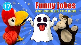 Funny jokes and riddles for kids | FluffPuff Puppets Kids Show episode #17