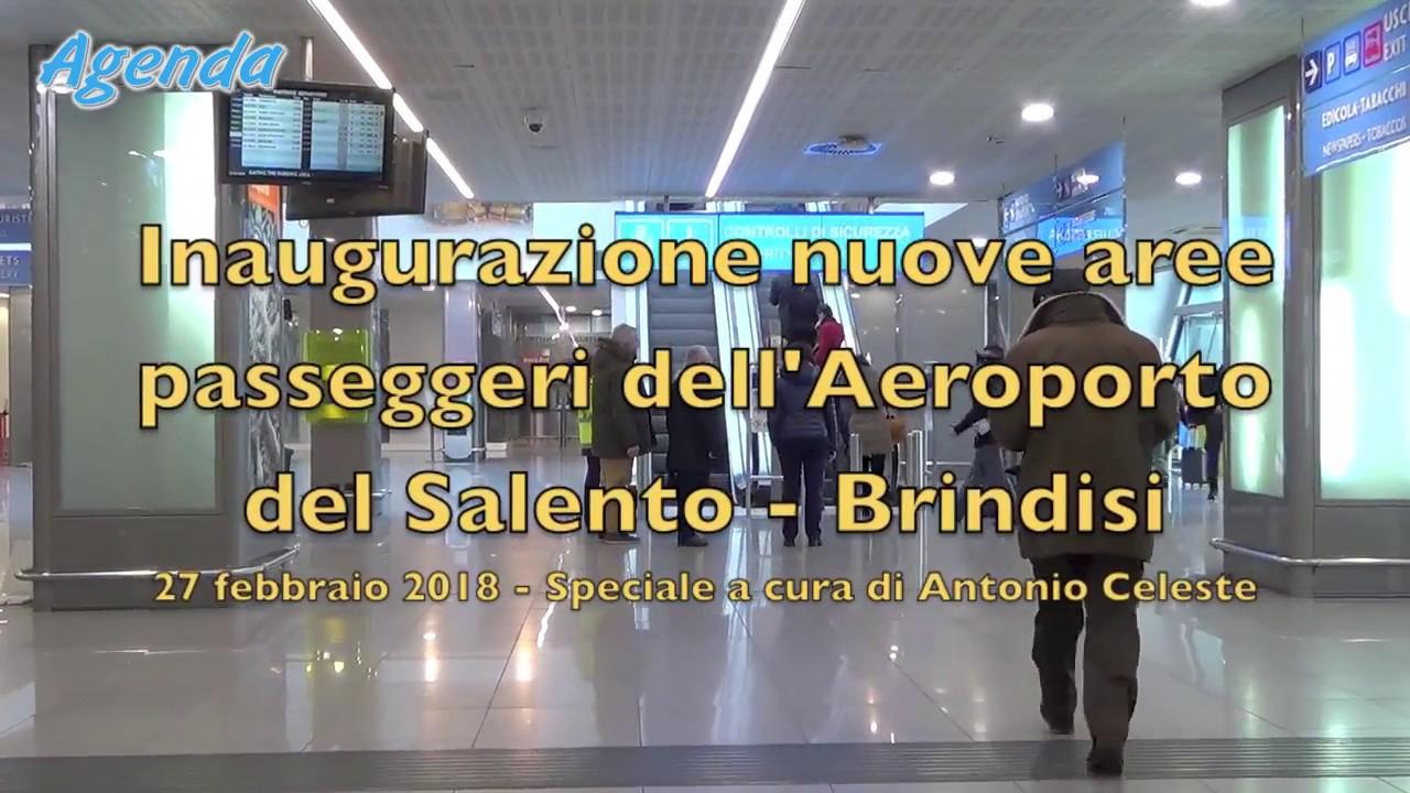 Aeroporto Brindisi : Brindisi riqualificazione dell aeroporto del salento video