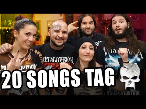 20 SONGS TAG!! NOS TATUAMOS POR LOS 100K - METAL LIFE