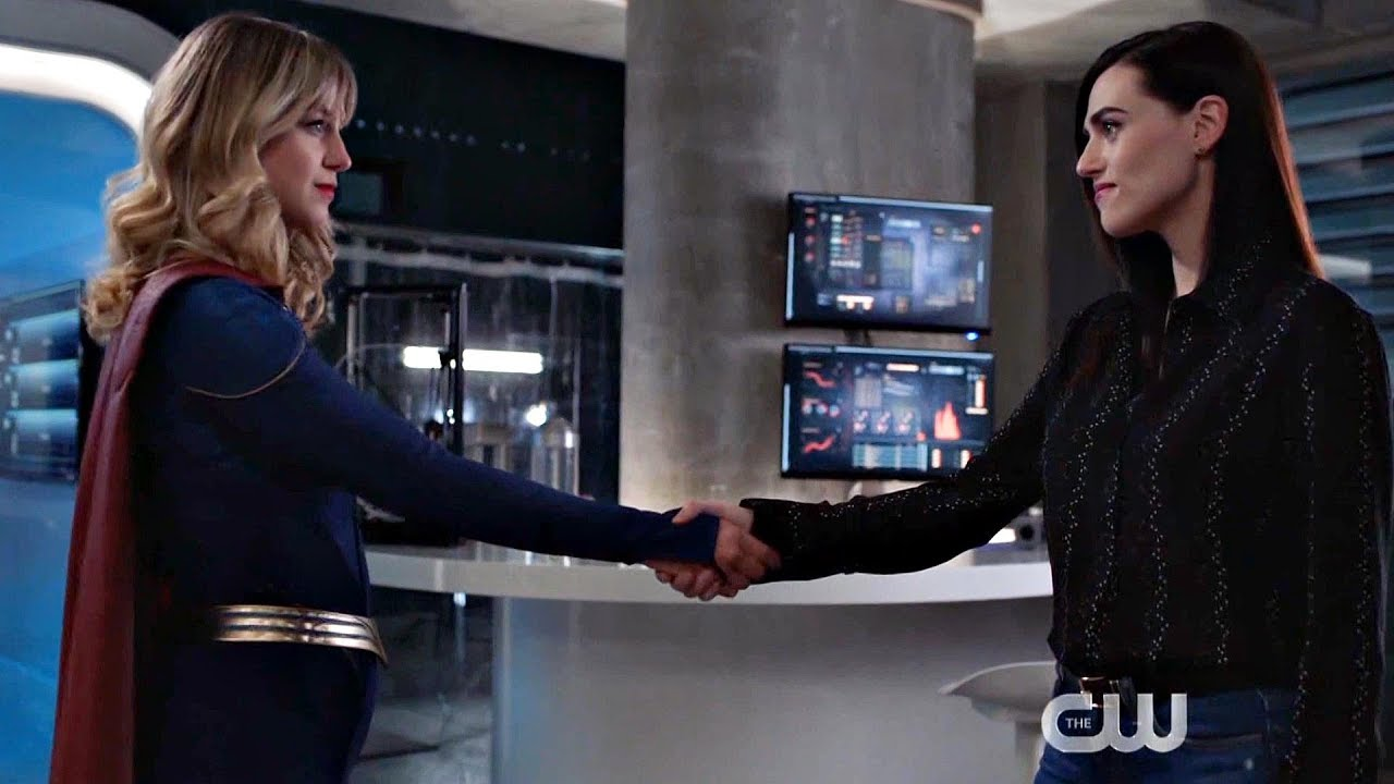 Supergirl 5x19 Kara and Lena agree to work together, Lex works with Lillian