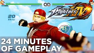 The King of Fighters XIV - 24 Minutes of GAMEPLAY