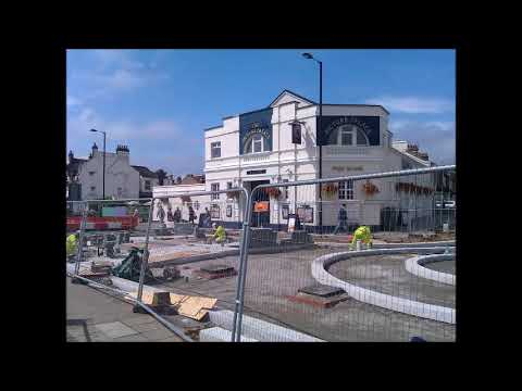 Reconstructing Derby Road Junction - Ponders End
