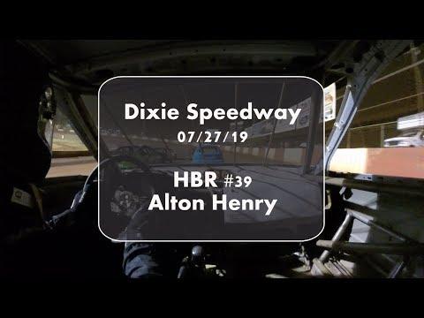 Alton Henry - Dixie Speedway 07-27-19