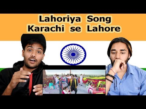 Indian reaction on lahoriya Song | karachi se lahore | Swaggy d