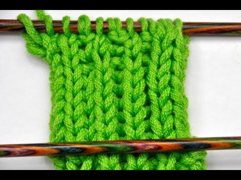 How To Knit Edge Stitches Part 3 Edging For Brioche Stitch