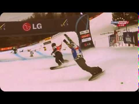 Первая российская победа в Сноуборд-Кроссе 2011/2012
