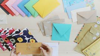 dohVinci Russia 2 видеоурок - как сделать красивый конверт  Курс мэйл-арта для DohVinci.ru