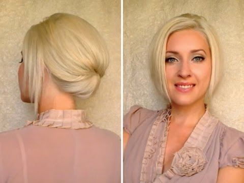 hair up styles for work hair updo for work office 1009 | hqdefault