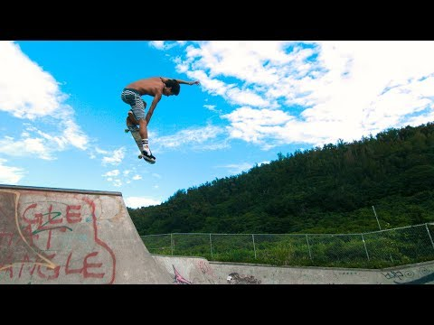Heimana Reynolds | This Hawaiian Skateboarder Can Fly!