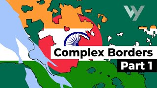 The Most Complex International Borders in the World