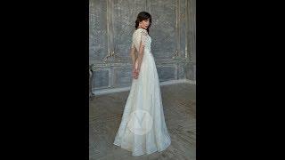 Свадебное платье с необычным кружевом Седа