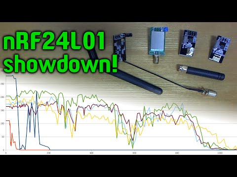 Ultimate nRF24L01 range comparison