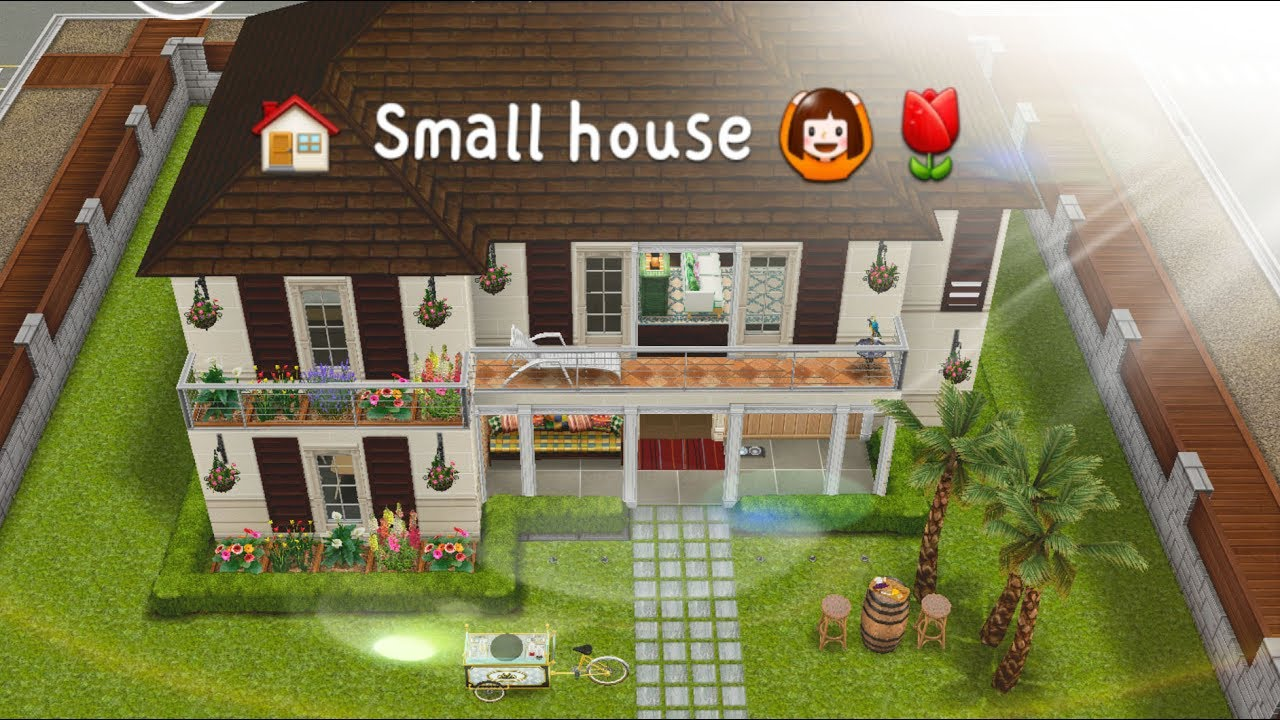 A small house sims freeplay house design modern house for Casa de diseno sims freeplay