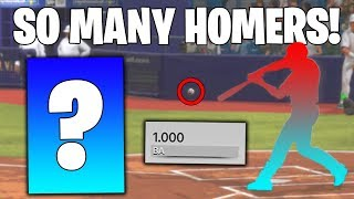 THIS IS THE BEST CARD IN THE GAME! DIAMOND REWARD REVEAL!? MLB The Show 18 Battle Royale