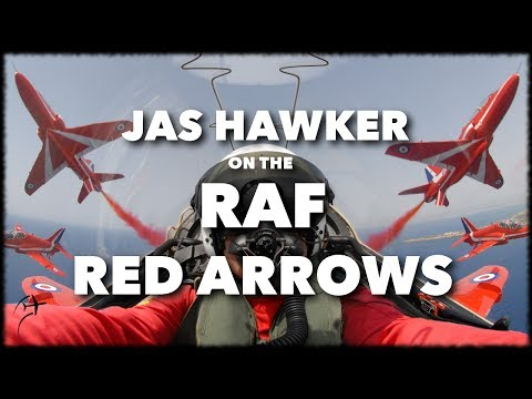 Interview with Jas Hawker on the RAF Red Arrows