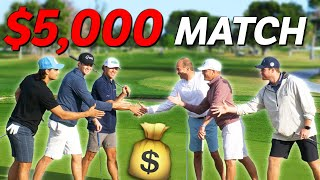 They Challenged Us To A Golf Match for $5,000...
