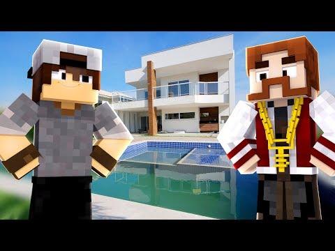 Minecraft: ADR #15 - A MANSÃO DA VILA DOS YOUTUBERS!