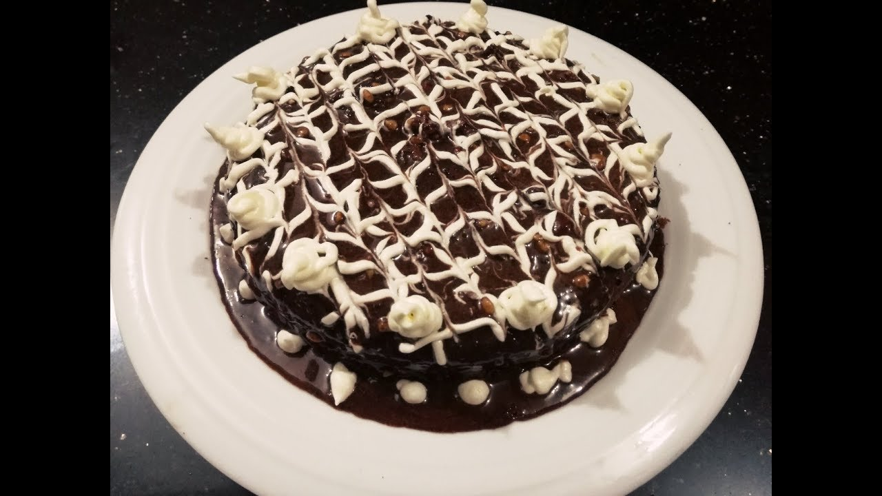 Chocolate cake without oven how to for How to make home cake without oven