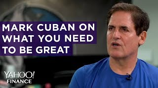 Mark Cuban discusses what it takes to be successful